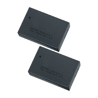 Battery for Canon LPE17 (2-Pack) Battery for Canon LPE17