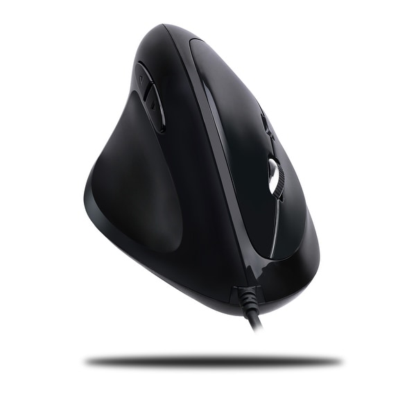 Adesso - Adesso Left-Handed Usb Vertical Ergonomic Gaming Mouse With Programmable Driver
