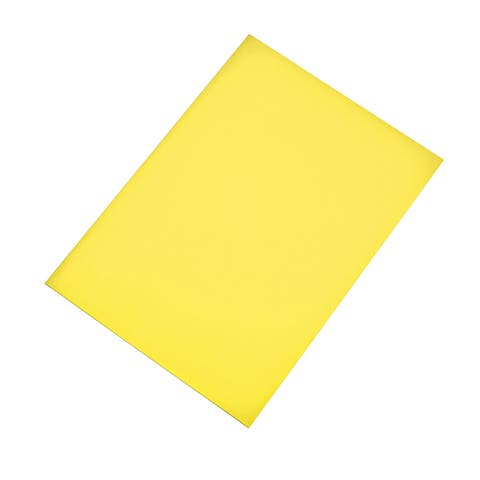 A4 Plain Magnet Sheets for Crafts or Applying Adhesive Items 24 Mil - Yellow