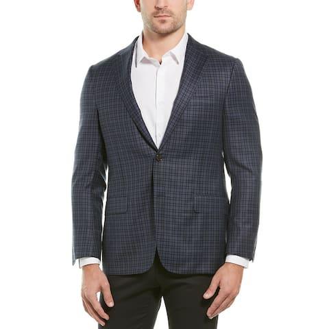 Hickey Freeman Beacon Traveler Wool Sportscoat