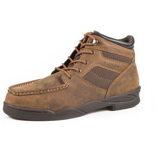 Roper Western Boots Mens Leather Laces Leather Tan 09-020-0350-0778 TA