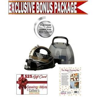 Exclusive Platinum Series Panasonic NIWL602N Champagne Iron Package