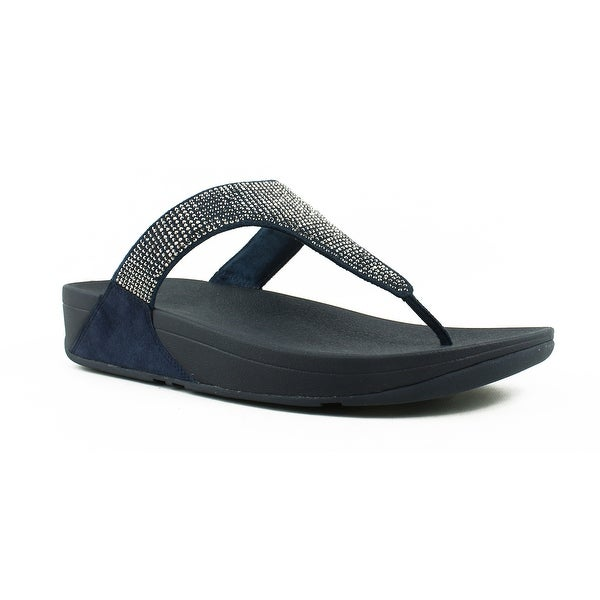 54b5a4c27a258f Shop FitFlop Womens Blue Flip flop Sandals Size 5 New - Free ...