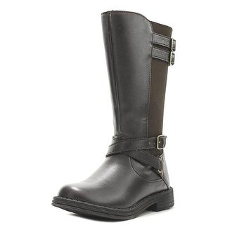 Umi Rhian Round Toe Synthetic Knee High Boot