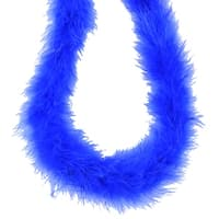 Pack of 3 Royal Blue Fluffy Feather Party Boas - 2 Yards