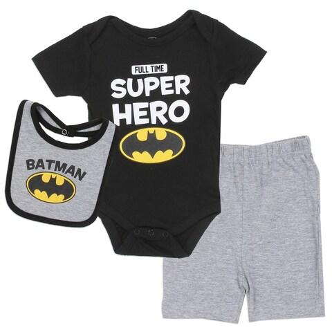 DC Comics Batman Full Time Superhero 3-Piece Creeper Set
