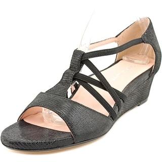 Taryn Rose Senja Women  Open Toe Leather  Wedge Sandal