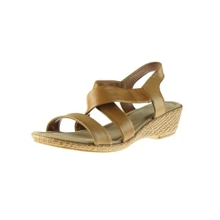 Bella Vita Womens Ciao Leather Caged Wedges - 9 narrow (aa,n)