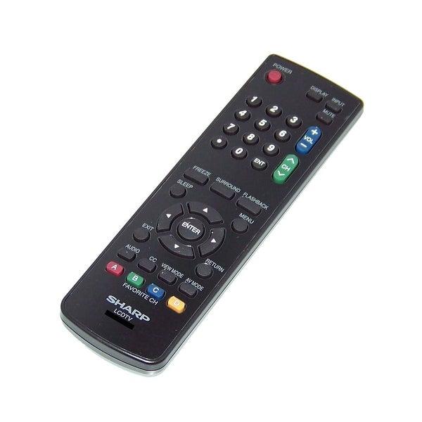 OEM Sharp Remote Control Originally Shipped With: LC55LE620U, LC-55LE620U, LC55LE620UT, LC-55LE620UT