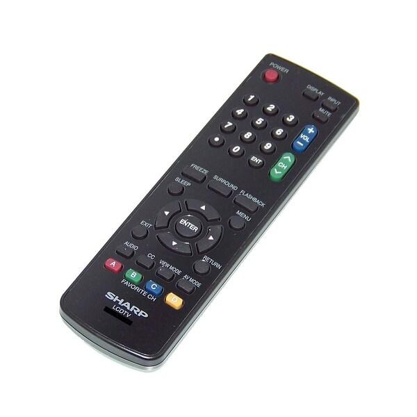 OEM Sharp Remote Control Originally Shipped With LC46LE620U, LC-46LE620U, LC46LE620UT, LC-46LE620UT LC55LE620 LC-55LE620