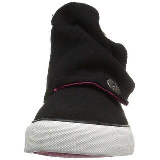 Blowfish Womens mabbit k Hight Top Pull On Fashion Sneakers, Black, Size 5.0