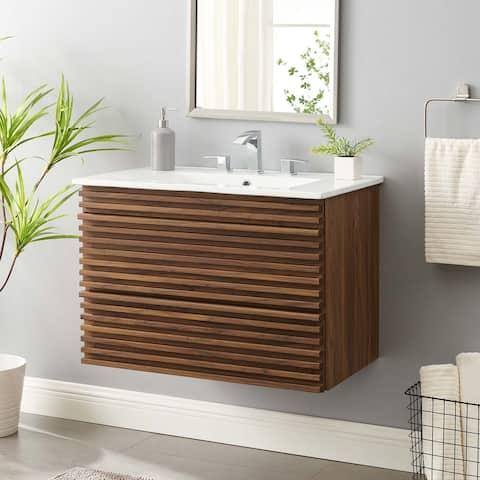 """Render 30"""" Wall-Mount Bathroom Vanity"""
