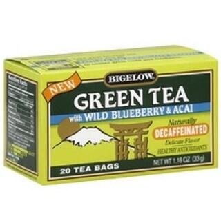 Bigelow B60629 Bigelow Green Tea With Blueberry And Acai-6x20 Bag