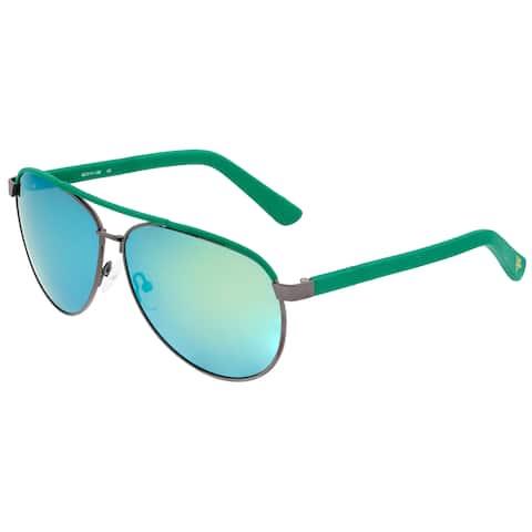 Sixty One Wreck Polarized Sunglasses - Gunmetal/Green - Green