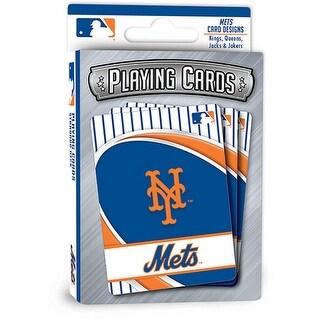 Master Pieces: Masterpieces New York Mets Playing Cards - Masterpieces New York Mets Playing Cards