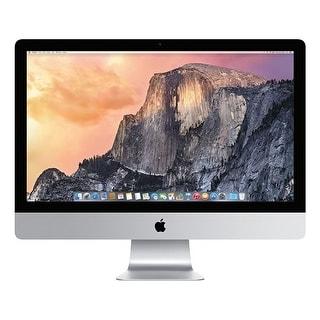Refurbished Apple IMAC 27 IN MF885LL-A-A IMAC 27 IN MF885LL-A-A
