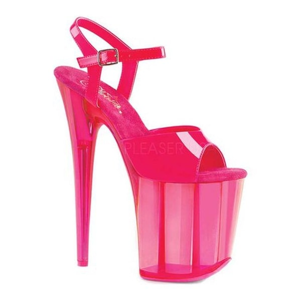 e3976f66b7 Shop Pleaser Women's Flamingo 809UVT Platform Sandal Neon Hot Pink Patent/Hot  Pink Tinted - Free Shipping Today - Overstock - 18484003