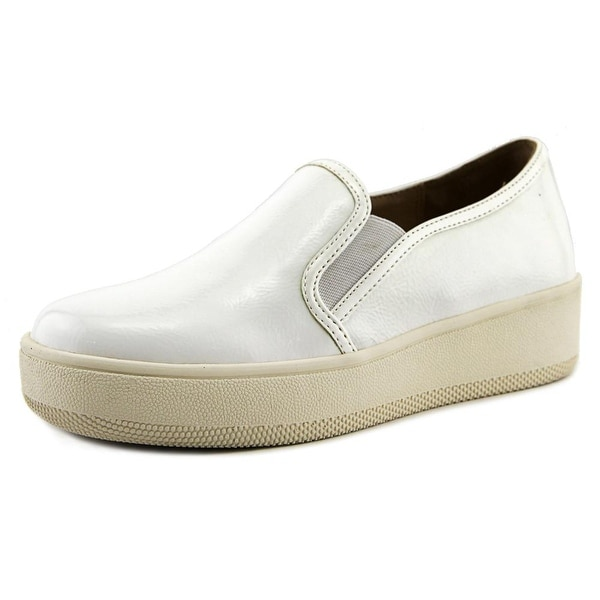 J/Slides Jibbie Women White Slippers