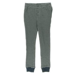 Nautica Mens Striped Banded Thermal Pants - XL