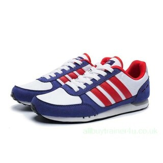 Adidas Womens City Racer Low Top Lace Up Running Sneaker