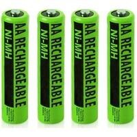 Replacement Panasonic PV-DC1580 NiMH Camera Battery - 2000mAh / 1.2v (4 Pack)