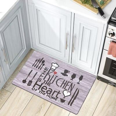 Kitchen Heart Anti Fatigue Mat