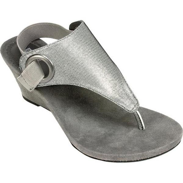 Shop White Mountain Women S Aida Thong Wedge Sandal