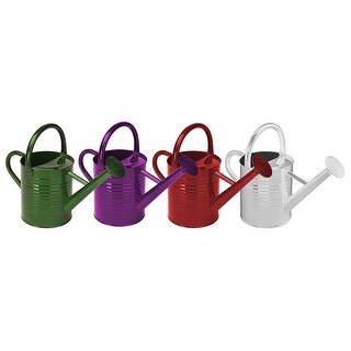 Panacea 84835 Traditional Painted Watering Can, Metal, Assorted