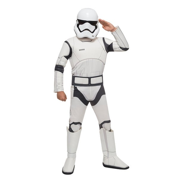 Star Wars The Force Awakens Deluxe Child Stormtrooper Costume