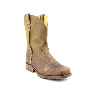 Ariat Rambler Square Toe Leather Western Boot