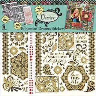 Bohemian Dreams - Dazzles Stickers 2/Pkg