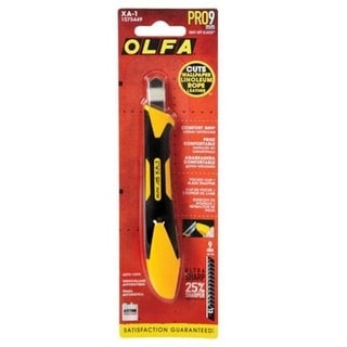 Olfa 1075449 Comfort Grip Rubber Reinforced Utility Knife