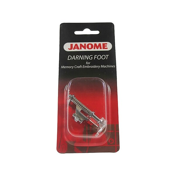 Janome Memory Craft Embroidery Machine - Darning Foot