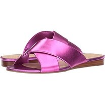 GUESS Womens Flashee3 Open Toe Casual Slide Sandals