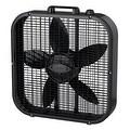"Lasko B20401 3-Speed Box Fan, Black, 20"" - Thumbnail 0"