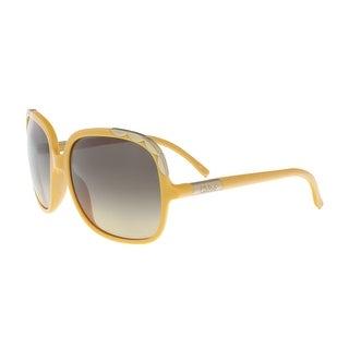 Chloe CL2221 799 Yellow Rectangle Sunglasses - 60-17-130