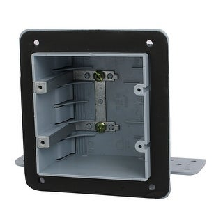 140mmx165mmx70mm 2 Gang Electrical Junction Outlet Box Enclosure Case