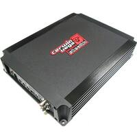 600 Watt RMS maximum One Channel Mono Car Amplifier w/Subsonic Filter & Built-In Adjustable Crossove