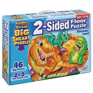 Patch Products 1311 Sneaky Floor Puzzle - Dinosaur Land
