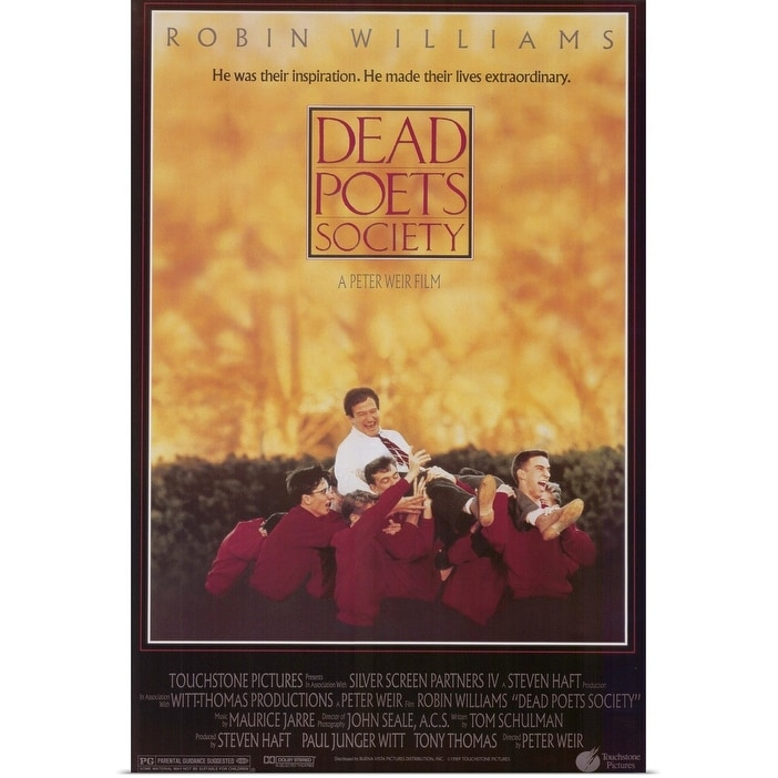 Shop Dead Poets Society 1989 Poster Print Overstock 24136681