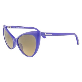 Tom Ford FT303/S 81Z Anastasia Electric Blue Full Rim Cateye Sunglasses - 55-15-135