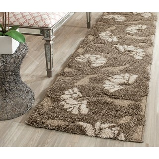 Link to Safavieh Florida Shag Neliha Floral Rug Similar Items in Transitional Rugs