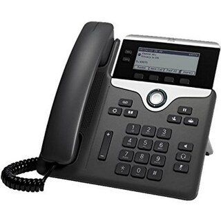 Cisco CP-7821-K9= Cisco 7821 IP Phone - Cable - Wall Mountable - 2 x Total Line - VoIP - Caller ID - SpeakerphoneUser Connect