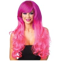 Cambria Two-Tone Long Wavy Wig Adult Costume Accessory
