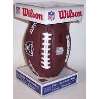 Wilson Oakland Raiders Full Size Composite NFL Football  F1748