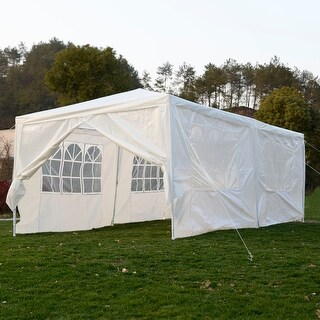 Costway 10'x20'Canopy Pavilion Cater Events Outdoor Party Wedding Tent