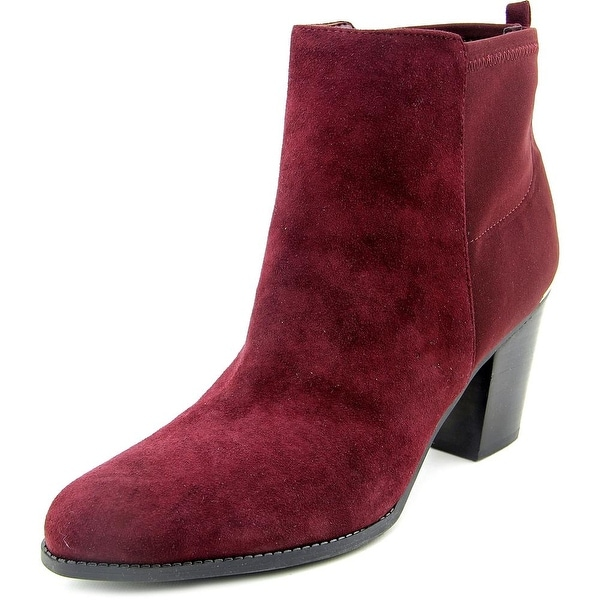 Marc Fisher Frenchie Round Toe Suede Ankle Boot