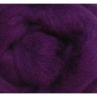 "Purple - Wool Roving 12"" .22Oz"