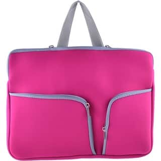 15.6 Polyester Shockproof Notebook Laptop Sleeve Carrying Bag Fuchsia|https://ak1.ostkcdn.com/images/products/is/images/direct/1c2485a59cca1d2be1249b8679477952e6a84205/15.6-Polyester-Shockproof-Notebook-Laptop-Sleeve-Carrying-Bag-Fuchsia.jpg?impolicy=medium