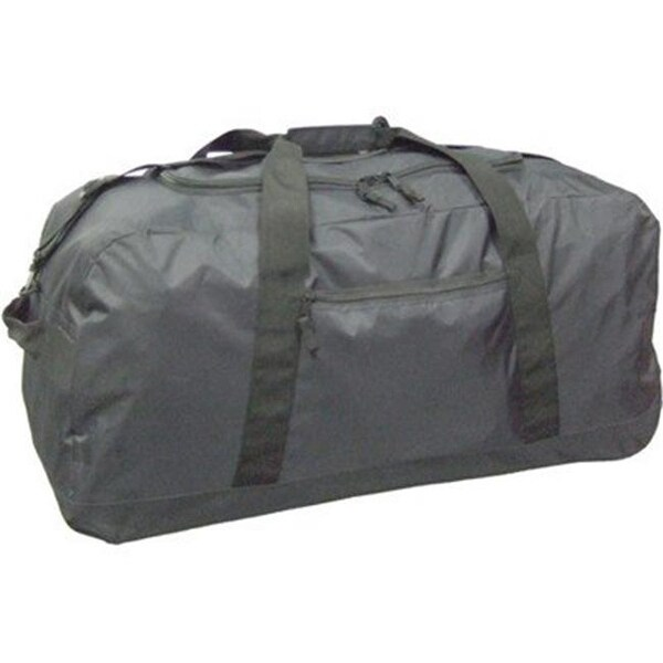 Shop Mcbrine Large Duffle Bag On Wheels Black 420 Denier Chinese